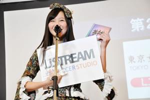 東京女子流、USTREAM大賞で第2位を獲得!
