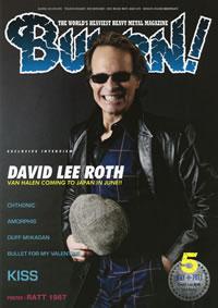 『BURRN!』最新号はデヴィッド・リー・ロスへ独占インタビュー!