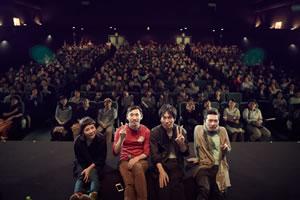 クラムボン『えん。』の先行レイトショーがスタート、舞台挨拶の映像も公開