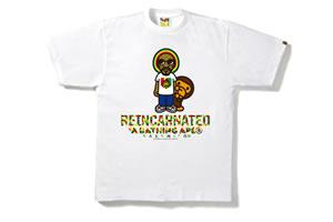 スヌープ・ライオン×A BATHING APE(R)のコラボTシャツが発売決定