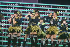 HKT48、2ndシングル「メロンジュース」を福岡で発表