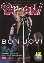ボン・ジョヴィを大特集、『BURRN!』最新号発売
