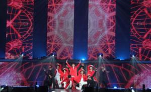 2PM、アリーナ・ツアー〈GENESIS OF 2PM〉がスタート