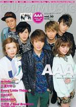 AAAを全31ページ&総30,000字超のインタビューで特集、『OUT of MUSIC』発売