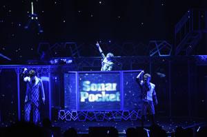 ソナーポケット、全国ツアー初日に新曲「ai」を初披露