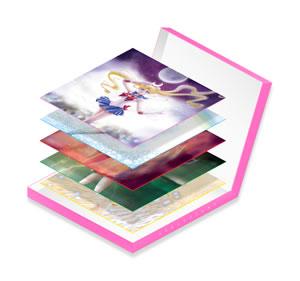 セーラームーンのトリビュート盤7inch、特典BOXのデザインが公開