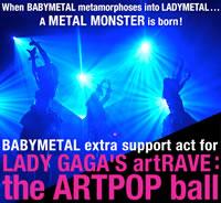 BABYMETAL、レディー・ガガのツアーに参加&初のUSワンマン・ライヴも決定