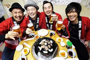 """怒髪天""""ドハツの日""""に中野サンプラザで大感謝祭を開催"""