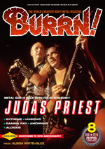ジューダス・プリーストが表紙巻頭に登場、『BURRN!』最新号発売