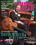 ブライアン・セッツァーの秘蔵ギター・コレクションが一堂に、『YOUNG GUITAR』最新号発売