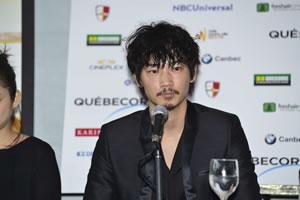 綾野 剛らが現地で記者会見、映画『そこのみにて光輝く』モントリオール世界映画祭へ出品