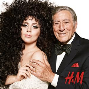 レディー・ガガとトニー・ベネット出演、H&Mの新CMが公開