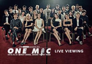 2PM��б��JYP NATION in BANGKOK 2014 -ONE MIC-�Ӥ�����αDz�ۤǾ��