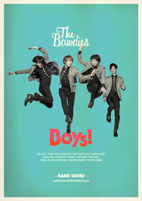 THE BAWDIES『Boys!』のバンド・スコアが発売