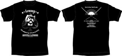 「極悪レミー」の一周忌追悼上映が決定 限定Tシャツ付前売券を販売