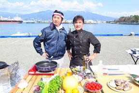 怒髪天・増子がBSフジの料理旅番組「瞬カン!レストラン」に出演 桜鯛を狙う