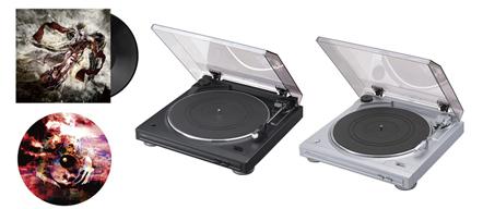 陰陽座、オーディオ・ブランド「Denon」とコラボ レコード・プレーヤーを数量限定発売