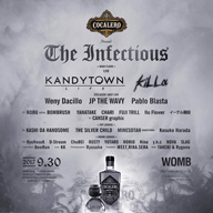 KANDYTOWN、kiLLa、JP THE WAVYなどが出演〈The Infectious〉渋谷で開催