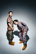 サイプレス上野とロベルト吉野、メジャー移籍後初フル・アルバム『ドリーム銀座』を11月にリリース