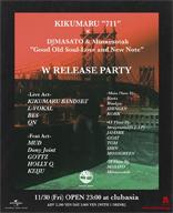 KIKUMARU、DJ MASATO & MinnesotahとのWリリース・パーティを11月に開催