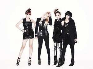 2NE1、有線J-POPチャート1位獲得!