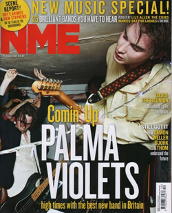 NMEの表紙に大抜擢! ブレイク必至の新人、パーマ・ヴァイオレッツのデビューシングル発売!