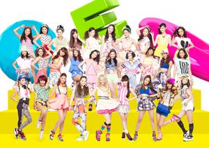 E-girls、新曲配信が初登場1位スタート!全国イベント実施も発表!