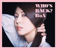BoA、オリジナル8thアルバム『WHO'S BACK?』のジャケット写真公開