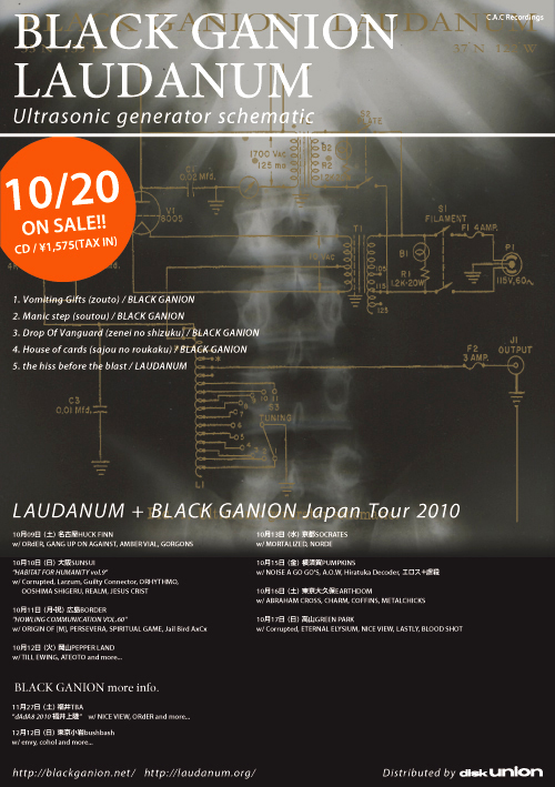 BLACK GANION_LAUDANUM_Ultrasonic Generator Schematic
