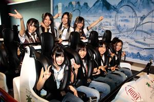 富士急ハイランドの新コースター「高飛車」オープニング・イベントにSKE48登場!