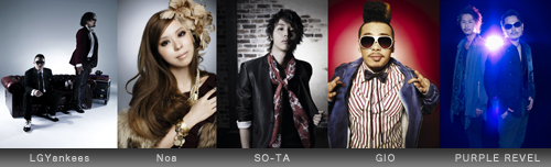 LGYankees / Noa / SO-TA / GIO / PURPLE REVEL