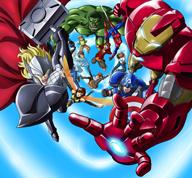 TVアニメ・シリーズ「ディスク・ウォーズ:アベンジャーズ」が2014年春に放送決定