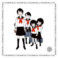 北村早樹子、柴田聡子、滝沢朋恵、テンテンコが描かれたフレキシのカヴァー・アートが完成