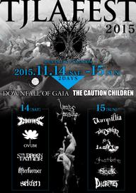 ワールドワイド・アンダーグラウンド・フェス〈TJLA FEST 2015〉、11月に2デイズ開催