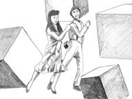 坂本慎太郎手描きアニメの「ディスコって(オノシュンスケ・カヴァーバージョン)」MV公開