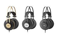 AKGがプロフェッショナルシリーズの密閉型オーバーイヤーヘッドフォン3モデルを新発売