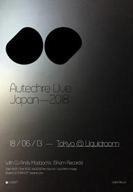 AUTECHREが6月に一夜限りの来日公演を開催