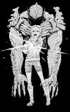 『チェンソーマン』藤本タツキが『サイコ・ゴアマン』のイラストを書き下ろし 「最高最悪のラストでした!」