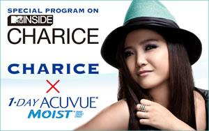 CHARICE、MTV Japanにて特別番組『MTV INSIDE:CHARICE』オンエア!