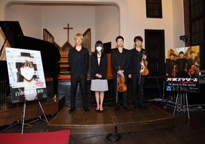 TSUKEMEN扮する芹沢ブラザーズが映画『白ゆき姫殺人事件』&CDデビュー。