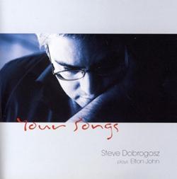 スティーヴ・ドブロゴスのピアノ・ソロによるトリビュート第2弾はエルトン・ジョン集