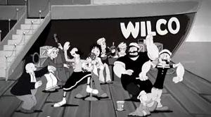 """ウィルコが最新ミュージック・ビデオで""""ポパイ""""とコラボ!"""