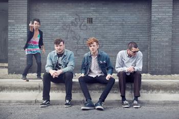 LAの4人組ガレージ・パンク・バンド、フィドラー(FIDLAR)のデビュー・アルバムのリリースが決定!
