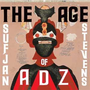 スフィアン・スティーヴンス、ニュー・アルバム『THE AGE OF ADZ』を10月13日に発売!