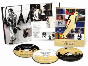 マイケル・ジャクソン究極のショート・フィルム集『マイケル・ジャクソン VISION』が11月24日に発売決定!