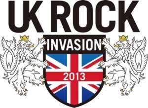 UKロック・ファン注目! キャンペーン「UK ROCK INVASION 2013」がスタート