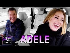 アデルが「Hello」やスパイス・ガールズ、カニエ・ウエストをカラオケで歌う米テレビ番組が公開中
