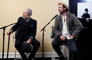 レナード・コーエンがボブ・ディランのノーベル賞受賞を語る記者会見映像公開中