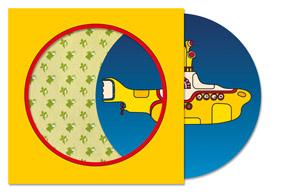 ザ・ビートルズの映画『イエロー・サブマリン』公開50周年記念7インチ・アナログ盤限定復刻