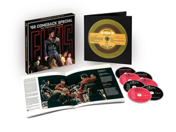 エルヴィス・プレスリーが完全復活を遂げたテレビ番組『'68カムバック・スペシャル』ボックス・セット発売
